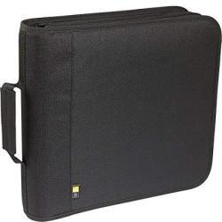 208 Capacity Nylon Cd Dvd Wallet - Black