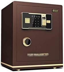 USA Wangjunxiu Safehousehold Small Office Safes 45 Cm Anti-theft All-steel Fingerprint Safe Box Bedside Invisible Wall Fireproof Digital Safe Dual Intell