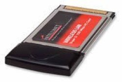 Intellinet Wireless Super G Pcmcia Adapter Up To 108 Mbps Network Data Transfer Rate 522731