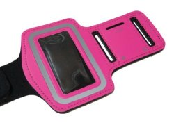 Gym Workout Sports Armband Strap For Apple Ipod Nano 7 7G 7TH Generation - Hot Pink
