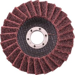 Tork Craft Flap Disc Non Woven 115x22 Medium Tcfd Red