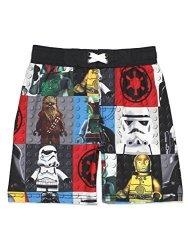 LEGO Star Wars Boy's Swim Trunks Swimwear 5-6 Black multi