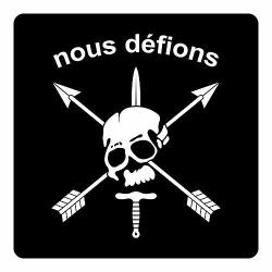 Nous Defions Stickers Two 4 Inch
