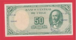 50 Chile Pesos Unc