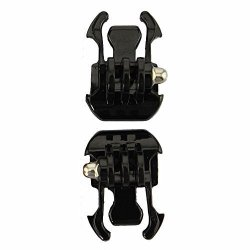 Alician 2X Black Buckle Basic Strap Mount For Gopro Hero 1 2 3 Camcorder Electronics