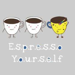 Espresso Yourself Sweater Male Grey