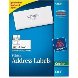 Avery AVE5363 - Copier Mailing Label