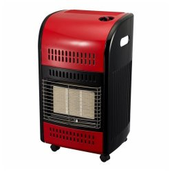 Totai Retro Red Gas Heater
