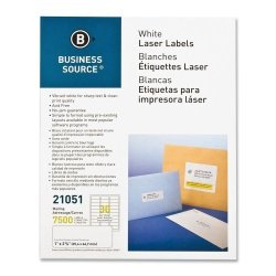 Business Source BSN21051 - Mailing Label