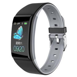 B86 1.14 Inch Ips Color Screen Women Smart Watch IP67 Waterproof Support Call Reminder heart Rate Monitoring blood Pressure Monitoring sleep Monitoring predict Menstrual Cycle Intelligently Gray