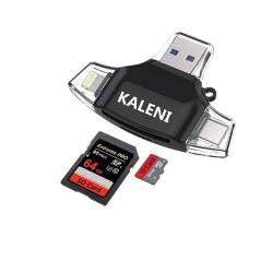 Kaleni Sd Card Reader Memory Micro Sd Card Reader USB Type C Adapter Viewer  Compatible With Iphone Ipad Android Mac - With Light | R729 00 | Card