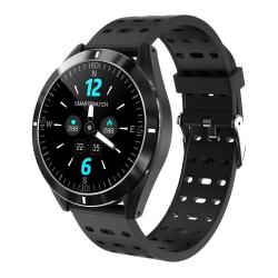 P6 1.3 Inch Ips Color Screen Smart Watch IP67 Waterproof Support Call Reminder heart Rate Monitoring blood Pressure Monitoring sleep Monitoring Black
