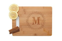 Krezy Case Great Kitchen Gift For New Homeowner Personalized Cutting Board Wedding Gift Laser Engraved Wooden Cutting Board