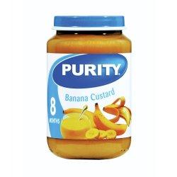 Purity - 3RD Foods Banana Custard 200ML