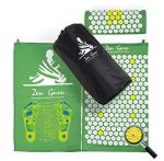 Best Acupressure Mat & Pillow Set - - Effective Remedy For Pain And Stress Relief - With Magnet Therapy - Free Bonuses: Carry Ba