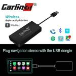 Carlinkit Carplay Dongle Upgrade Box Interface For Apple Carplay Android Head Unit Wireless Android Auto Bluetooth With MIC