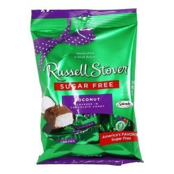 Russell Stover Sugar Free Chocolate Candy Coconut 3 Oz Bag 3 Pack By Russell Stover