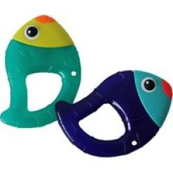 Sassy Chill N& 39 Chirp Water Filled Teether 2 Pack