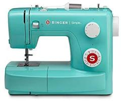 Singer Simple 3223G Handy Sewing Machine Including 23 Built-in Stitches Adjustable Tension Easy Stitch Selection Built-in Bobbin