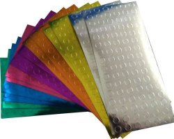 InStockLabels.com Color Coding Dot Labels For Office Teacher Supplies 1 4 Inch Metallic Assortment Pack 1 344 Stickers 192 Each Color Silver Copper Gold Blue Purple Red Green
