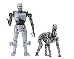 "NECA - Robocop Vs The Terminator - 7"" Scale Action Figures - Endocop terminator Dog 2-PACK"