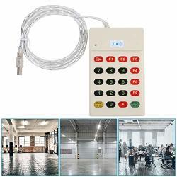 Pbzydu Door Access Card Reader Smart Keyboard Frid Ic id Card Control Readers Dual USB Security Door Entry Ic