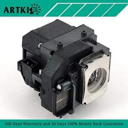 Artki ELPLP54 V13H010L54 Replacement Lamp For Epson Powerlite 79 S7 S8+ W7 EB-S7 EB-S72 EB-S8 EB-S82
