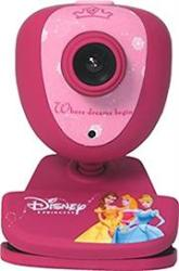 Disney Princess USB Web Camera With Microphone- USB 1.3 Megapixel Cmos Sensor Webcam With Mpx Support USB 2.0 And USB 1.1 Compatible With Skype