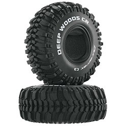 DuraTrax Deep Woods 1.9 Inch Rc Rock Crawler Tires With Foam Inserts C3 Super Soft Compound High Traction Unmounted Set Of 2