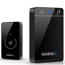NBD Guudgo GD-MD01 Wireless Touch Screen Music Doorbell Portable