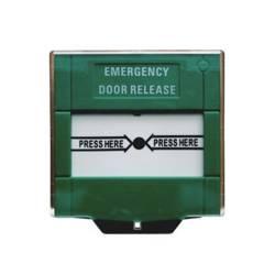 Fortis Emergency Door Release Switch Green