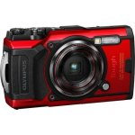 Olympus Tough TG-6 Underwater Camera Red +