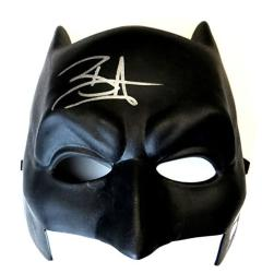 USA Ben Affleck Signed Autographed Batman Mask Batman Justice League Jsa U99060
