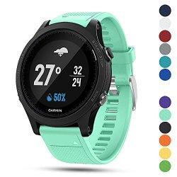 Ysang For Garmin Forerunner 935 Gps Accessory Watch Band 22MM Width Soft Silicone Quick Install Sport Watch Strap Bracelet Wristband For Garmin Forerunner 935 Gps Smart Watch