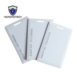 YARONG TECH-10PCS EM4100 Thick Clamshell 125KHZ Plastic Rfid Card For Access Control
