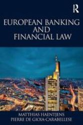 European Banking And Financial Law Paperback