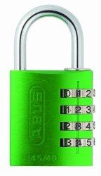 Abus 145 40MM Combination Padlock Green