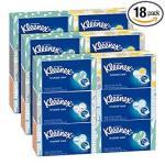 Kleenex Everyday Facial Tissues 210 Tissues Per Flat Box 18 Pack