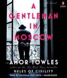 A Gentleman In Moscow Standard Format Cd