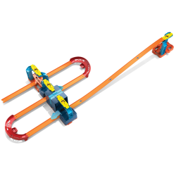Hot Wheels Track Builder Unlimited Ultra Stackable Booster Kit Motorized Set