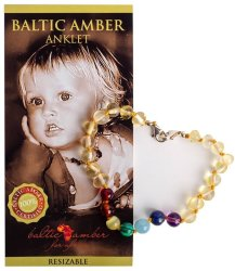 Baltic Amber For Africa Teething Beads Baltic Amber For Africa Baby Anklet