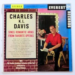 Charles K.l. Davis Sings Romantic Arias From Favorite Operas With The Stadium Orchestra Of New York Wilfred Pelletier Conductor.