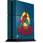 Skinit Marvel Spider-man PS4 Console Skin - The Amazing Spider-man
