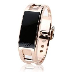 Gloriest Local Tyrants Gold Fashion Smart Bracelet Bluetooth Sync Wrist Watch For Iphone Samsung And