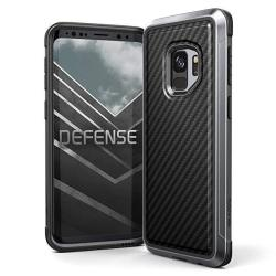Galaxy S9 Case X-doria Defense Lux Premium Protective Aluminum Frame Thin Design Shockproof Slim Case For Samsung Galaxy S9 Blac
