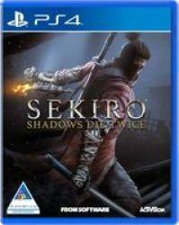 Activision Sekiro: Shadows Die Twice Playstation 4