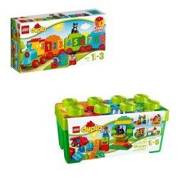 Lego Duplo Train Box Gift Bundle 2Y+ 10572 & 10847
