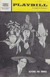 """Dudley Moore""""beyond The Fringe"""" Peter Cook alan Bennett 1963 Philadelphia Tour Playbill"""