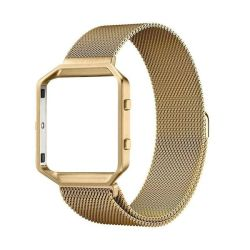 Milanese Band & Frame For Fitbit Blaze - Gold M-l