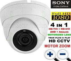 Usg Premium Sony Starvis Chipset 2MP 1080P Dome Security Camera With